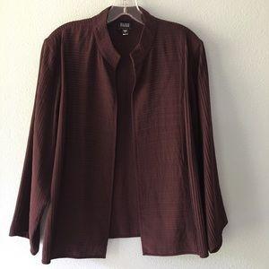 Eileen Fischer silk jacket